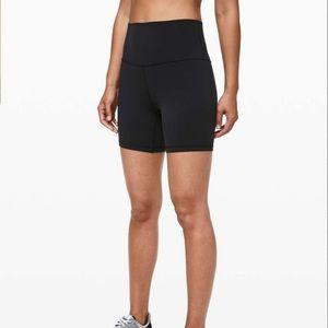 "Lululemon athletica align biker shorts 6"" size 4"